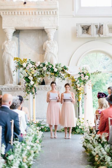 Humanist Wedding Ceremony At Aynhoe Park