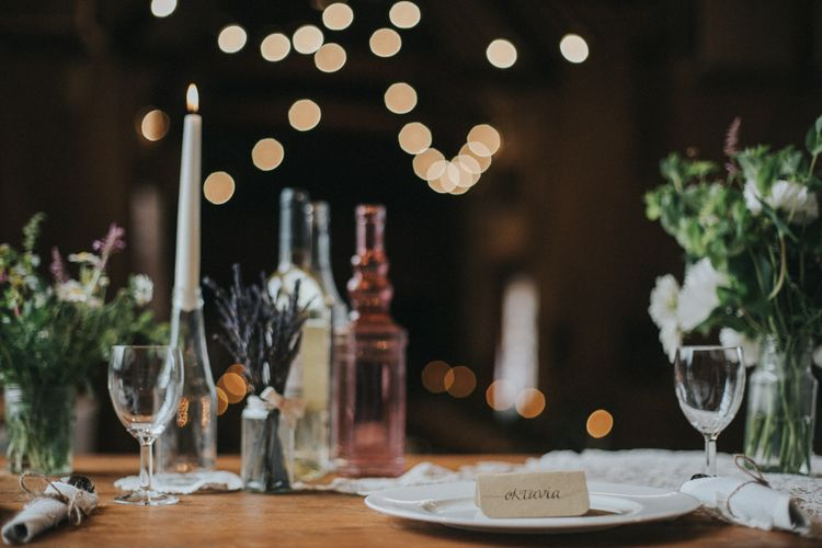 Table Setting Wedding Decor