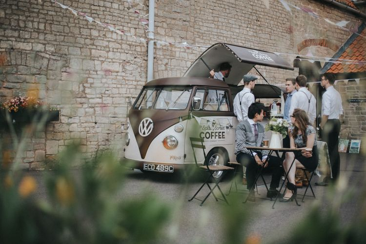 Camper Van Coffee Bar