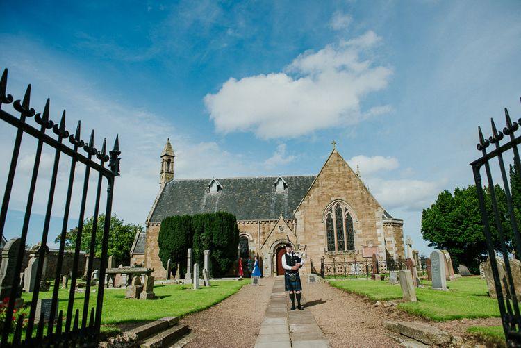 Scottish Wedding At Gilmerton House in East Lothian