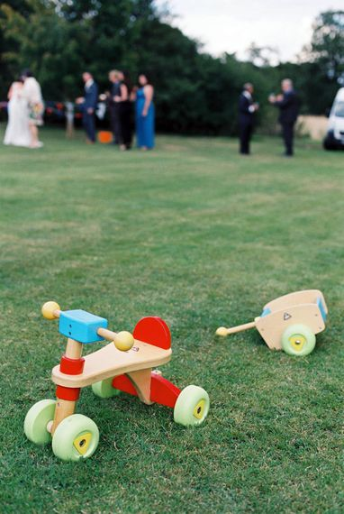 Toys For Little Ones At Weddings