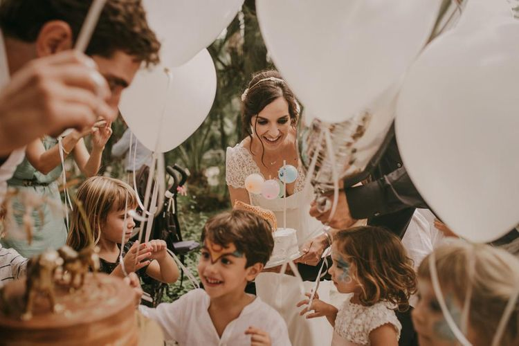 Balloons For Little Ones At Weddings