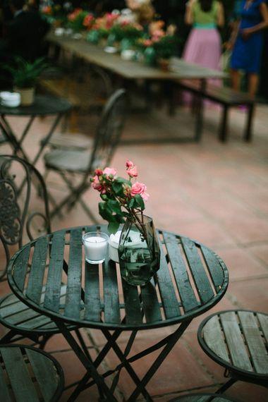 Plant Pot Wedding Decor
