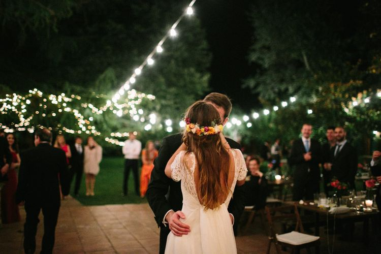 Bride & Groom Outdoor First Dance