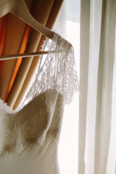 Lace Sleeves of Brides Xavier González Wedding Dress