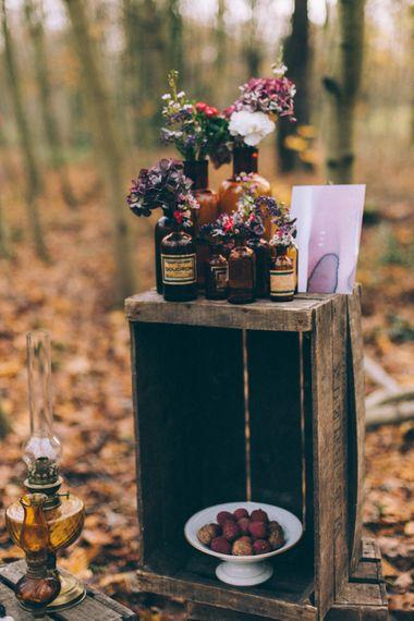 Wooden Palette Wedding Decor