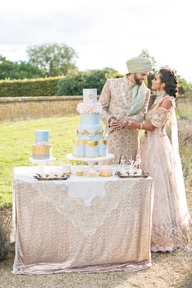 Pastel English Countryside Asian Fusion Wedding Inspiration