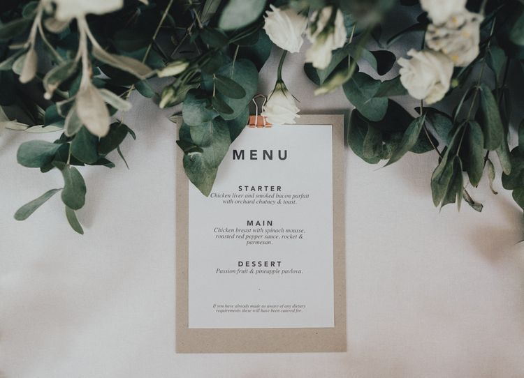 Elegant Yet Simple Wedding Stationery