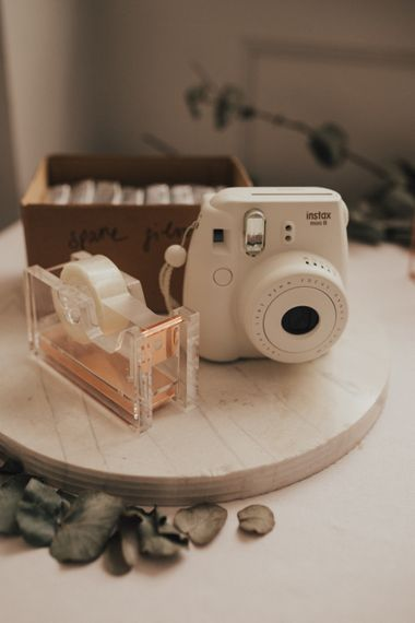 Wedding Polaroid Station