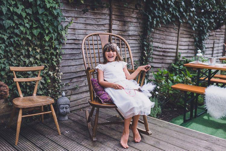 Flower Girl in Tulle Marks and Spencer Skirts