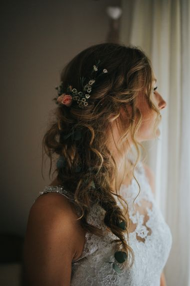 Bride with Boho Waves | 2 Day Festival Theme Wedding | Colin Ross Photography