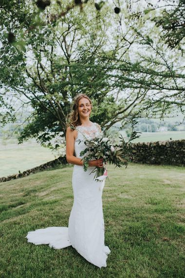 Beautiful Bride in St Patrick Bridal Gown | 2 Day Festival Theme Wedding | Colin Ross Photography