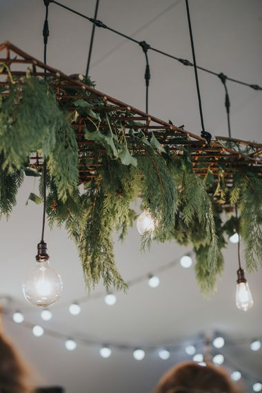 Festoon Lights & Greenery Installation | 2 Day Festival Theme Wedding | Colin Ross Photography