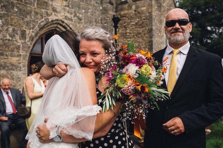 Beautiful Bride In Pronovias