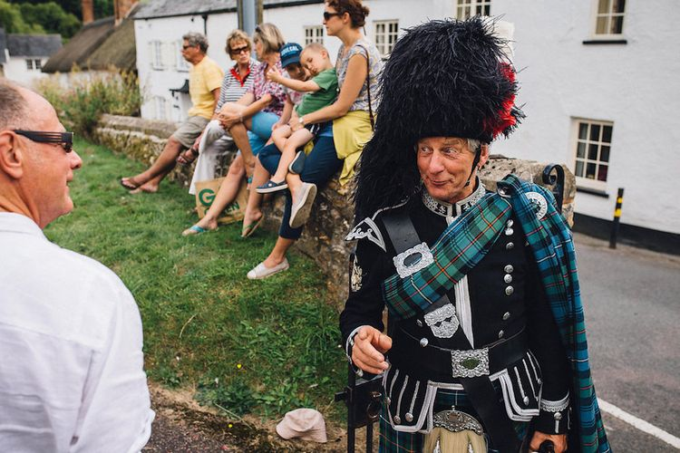 Bag Piper For Wedding