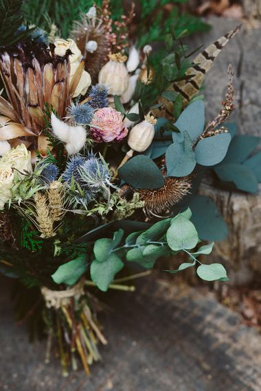 Dried Flowers By Lotus Floral Art | Image by Sarah London Photography | Having A Eco Friendly Wedding