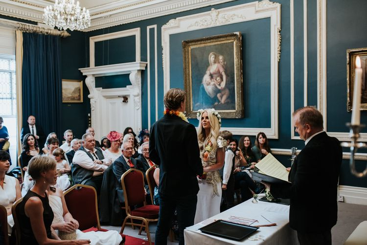 Spiritual Wedding At The Stephen's Green Hibernian Club Dublin With Images By Damien Milan Photography & Planning By Italian Eye Weddings