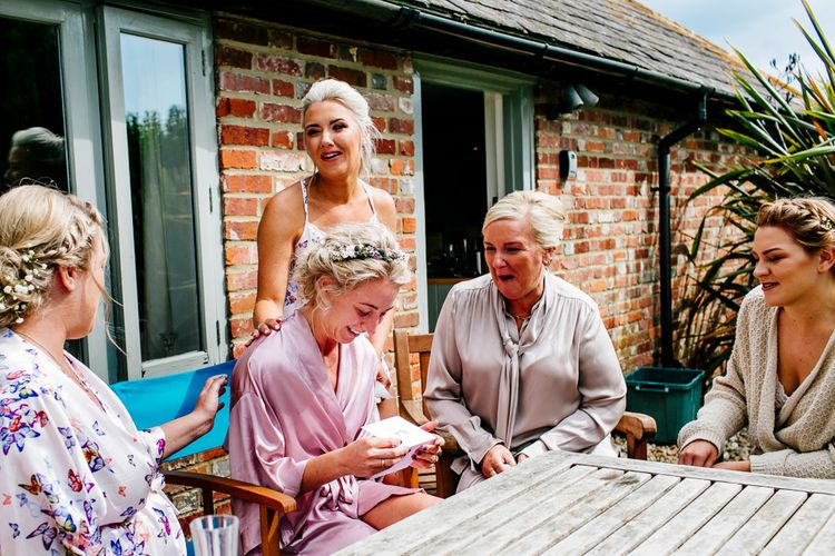 Bridal Preparations   Colourful Coastal Wedding at The Gallivant in Camber Sands with DIY Decor   Epic Love Story Photography
