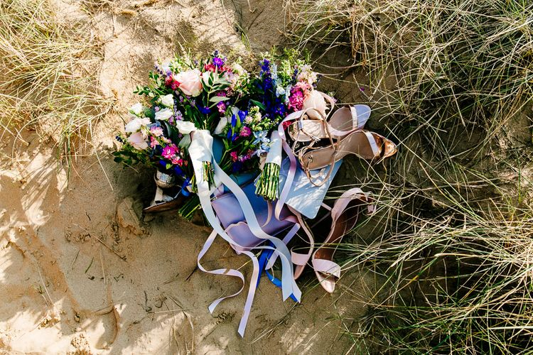 Colourful Coastal Wedding at The Gallivant in Camber Sands with DIY Decor   Epic Love Story Photography