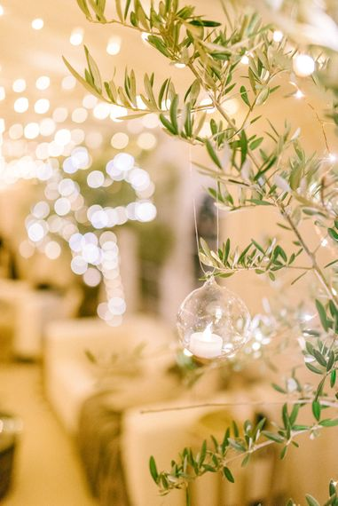 Elegant Classic Winter Wedding In A Marquee With Candles & Olive Trees With Images From Sarah Jane Ethan Photography
