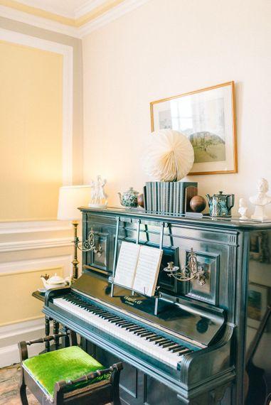 Piano at Crook Hall Gardens