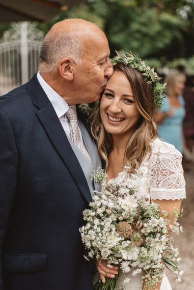 Bride in Laure De Sagazan