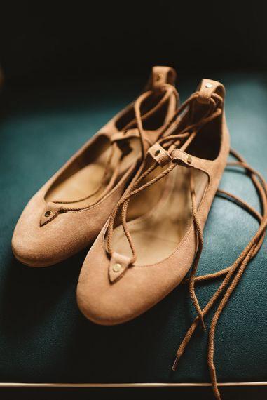 Chloe Ballet Flats Wedding Shoe