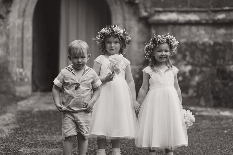 Flower Girls in John Lewis Dresses