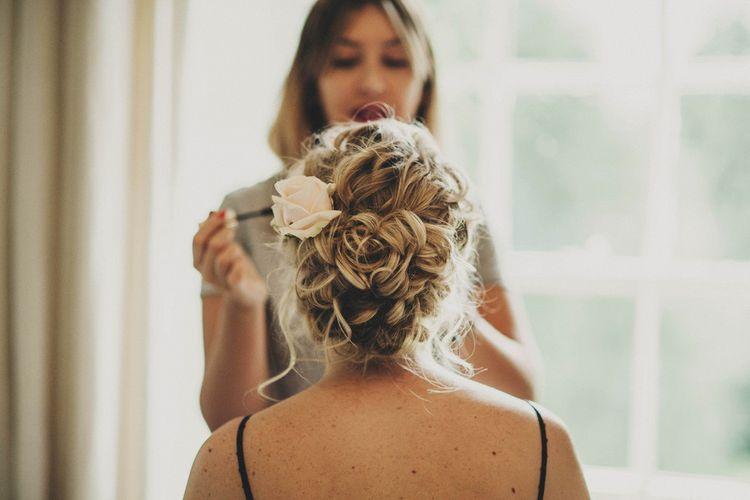 Twisted Bridal Up Do