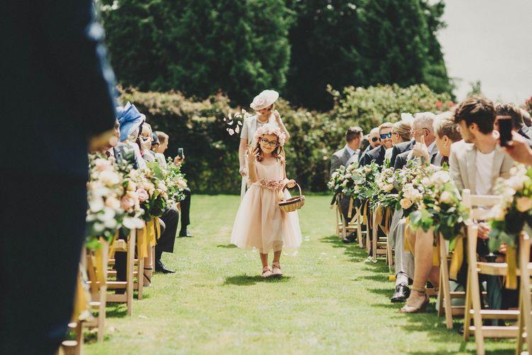 Bridal Party Entrance | Flower Girl