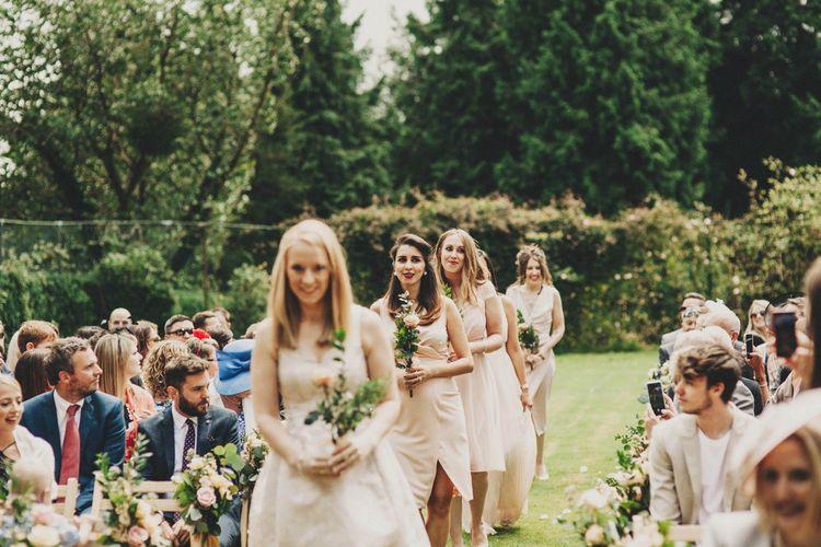 Bridal Party Entrance | Bridesmaids