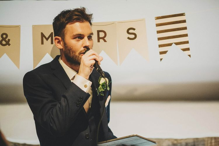 Groom Wedding Reception Speech