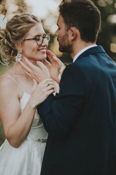 Romantic Bride & Groom Portrait