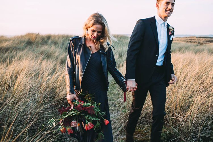 Coral And Navy Wedding Inspiration From Styled by Cherish