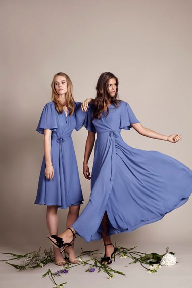 Florence & Tokyo in Bluebell