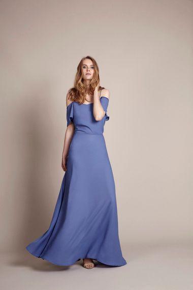 Marrakech Top & Skirt in Bluebell