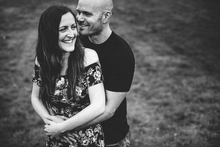 Engagement Shoot For RMW Real Bride Emma & Dean