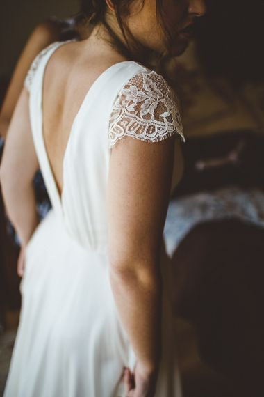 Daisy By Halfpenny London For A Boho Barn Wedding In Yorkshire With Decor By Wild At Heart Weddings Images By Photography 34
