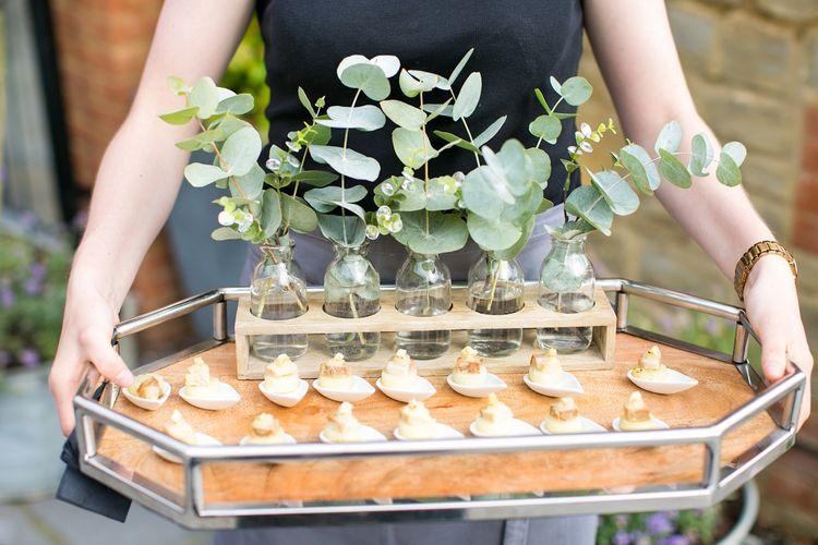 Kalm Kitchen Catering | Outdoor Ceremony at Millbridge Court, Surrey | Anneli Marinovich Photography