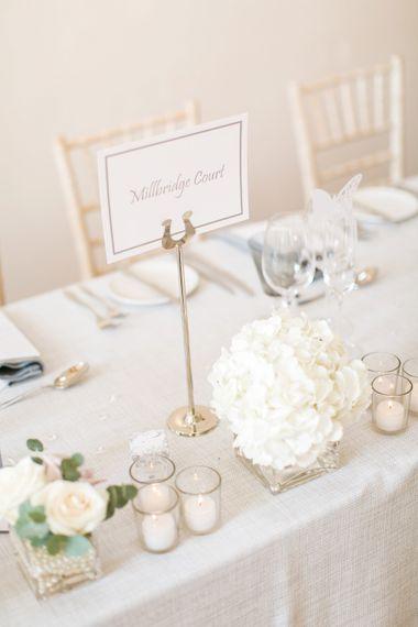 Table Names | Millbridge Court, Surrey | Anneli Marinovich Photography