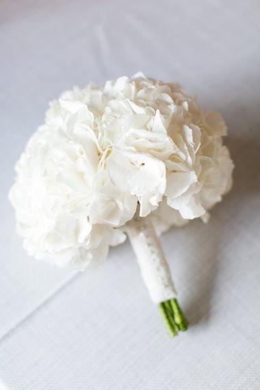 White Hydrangea Bouquet | Anneli Marinovich Photography