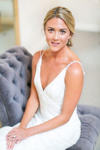 Bride in Anita Massarella Bridal Gown | Anneli Marinovich Photography