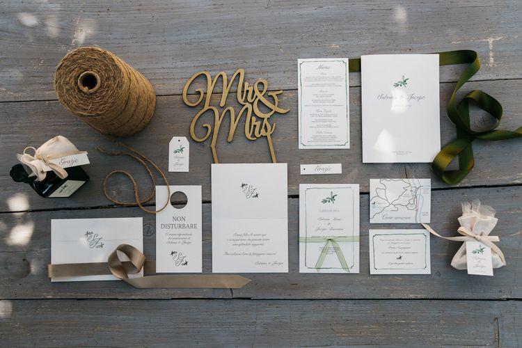 Suze Design Studio Wedding Stationery Suite