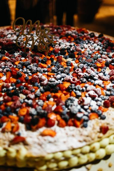 Patisserie Wedding Cake with Berries