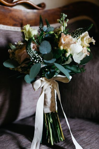 Classic Rose Bouquet with Ribbon