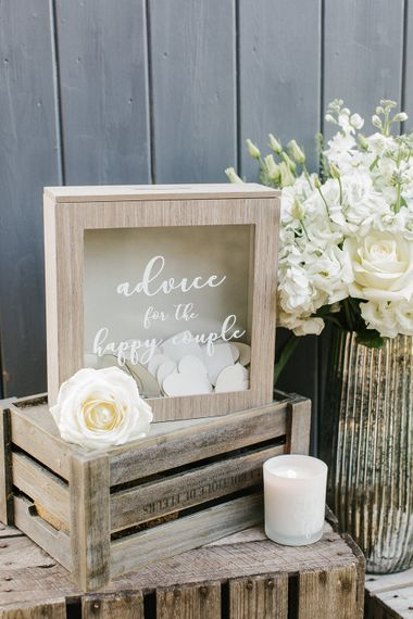Wedding Memories Box // Wedding Details From The Sainsbury's Home Wedding Collection