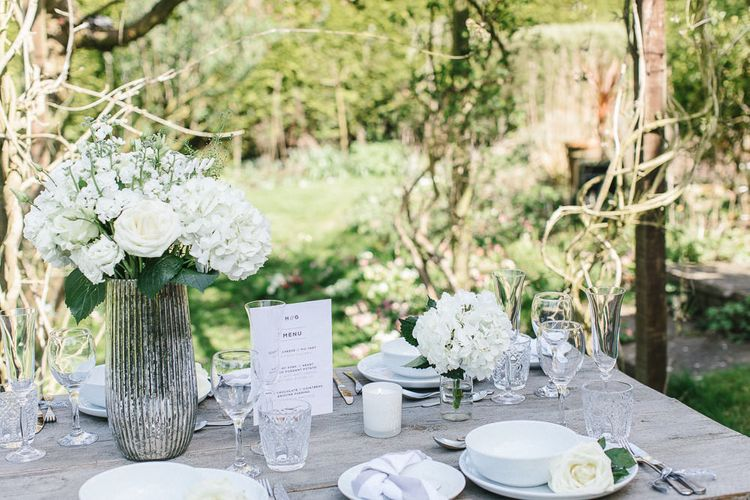 Wedding Table Details From The Sainsbury's Home Wedding Collection