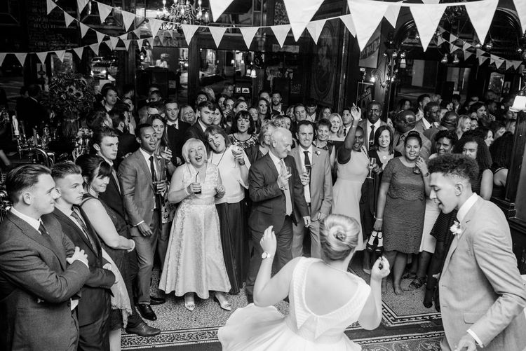 60s inspired london pub wedding babb photo-116
