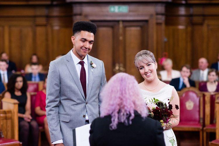 Islington Town Hall Wedding Ceremony | Babb Photo