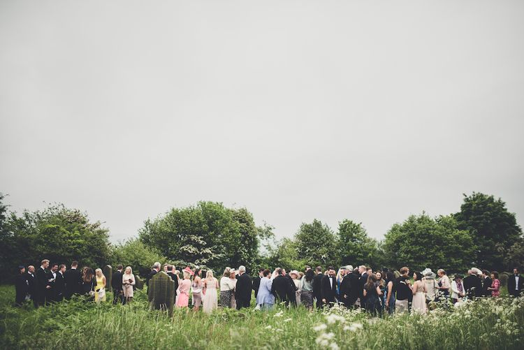 Yorkshire Countryside Wedding Guests